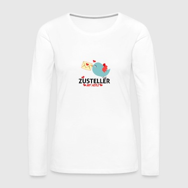 Deliverer with heart - Women's Premium Longsleeve Shirt