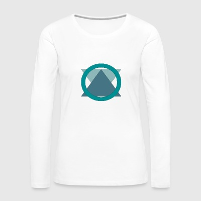 Triangle_in_Circle - T-shirt manches longues Premium Femme