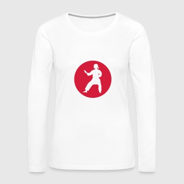 Red Karate - Women's Premium Longsleeve Shirt