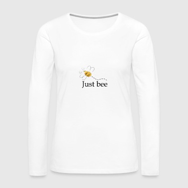 Just_bee - Camiseta de manga larga premium mujer