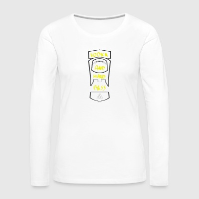 vodka and hard bass - Women's Premium Longsleeve Shirt