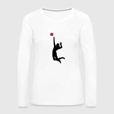 6061912 126238105 Volley-ball - T-shirt manches longues Premium Femme