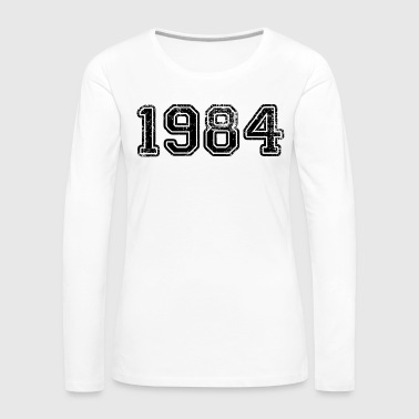 1984 (Black) - Women's Premium Longsleeve Shirt