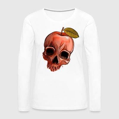 Apple Skull - Women's Premium Longsleeve Shirt