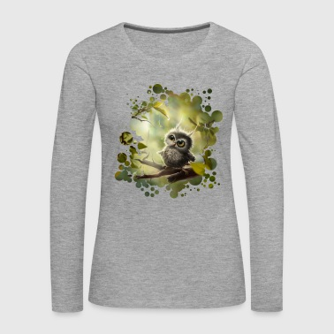 Little Owl - Women's Premium Longsleeve Shirt