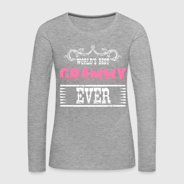 World's Best Grammy Ever - Women's Premium Longsleeve Shirt