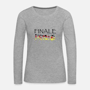 FINALE schwarz rot gold Frauen Premium T-Shirt   Spreadshirt ba3cdbfcdd