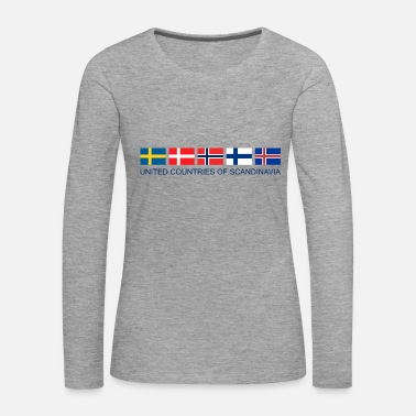 Scandinavia SCANDINAVIA | United Countries of Scandinavia - Women's Premium Longsleeve Shirt