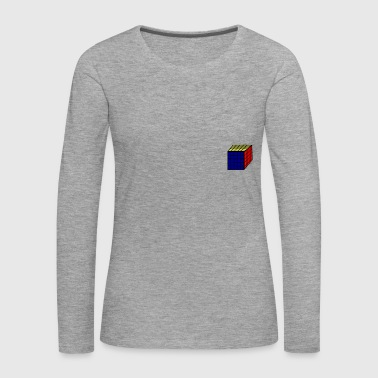 magic cube - mathematics - technique - Women's Premium Longsleeve Shirt