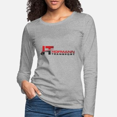 Transport Hofmann transport - Premium långärmad T-shirt dam