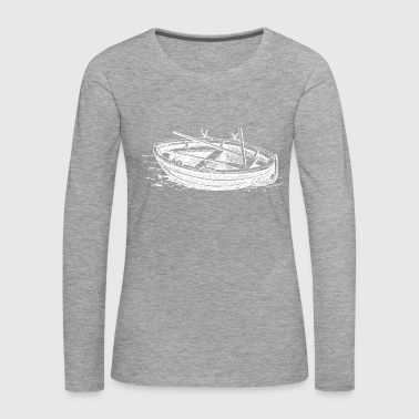 fishing boat - Women's Premium Longsleeve Shirt