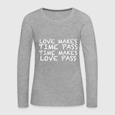 MAKE LOVE - Women's Premium Longsleeve Shirt