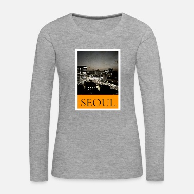 Asian Stylish Seoul Fashion Design - Korea - Women's Premium Longsleeve Shirt