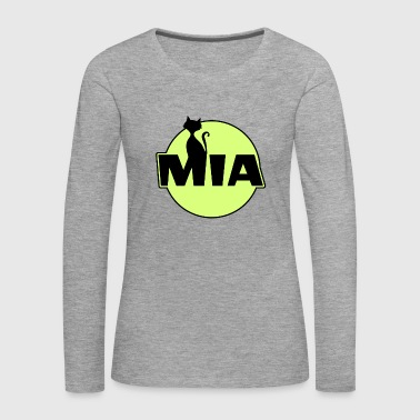 Name Mia Name First name - Women's Premium Longsleeve Shirt