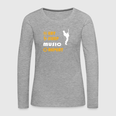 Rapper Music - gift for men and women - Women's Premium Longsleeve Shirt