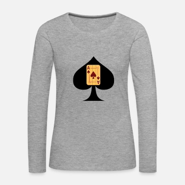Ace Of Spades Ace of Spades - Women's Premium Longsleeve Shirt