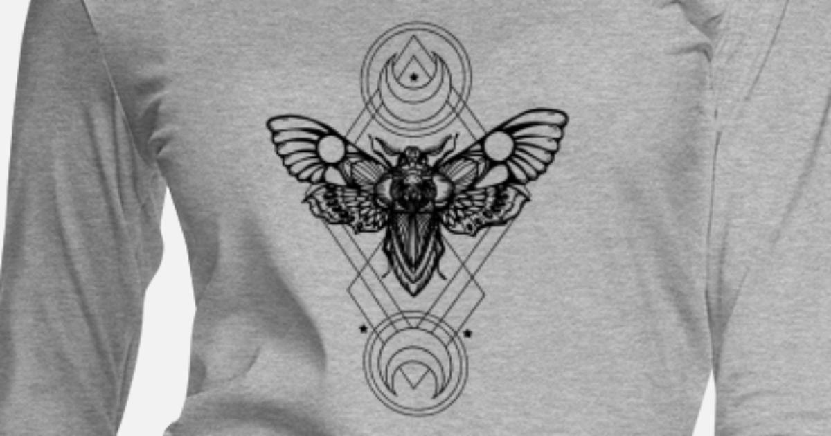Vlinder Tattoo Vrouwen Premium Longsleeve Spreadshirt