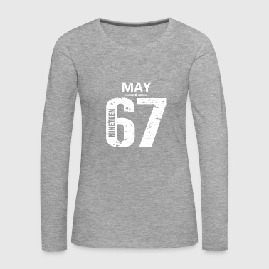 Jersey Number May 1967 Jersey Number - Women's Premium Longsleeve Shirt