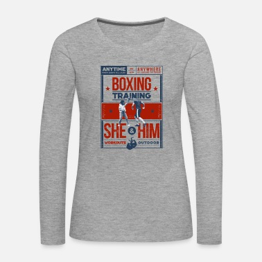 Training Boxing Training - T-shirt manches longues Premium Femme