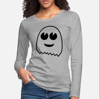 Ghost ghost - T-shirt manches longues premium Femme
