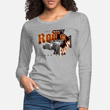 Cars rod's fresh - Women's Premium Longsleeve Shirt