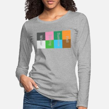 Seasonal Seasons - Women's Premium Longsleeve Shirt