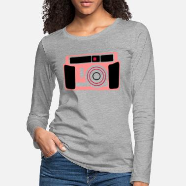 Digital Camera appareil photo camera 4 - Women's Premium Longsleeve Shirt