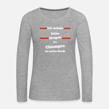 Chiemgau søker hjemferie gave Oversize T skjorte for