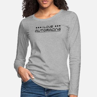 Car Racing Race car racer car racing race car - Women's Premium Longsleeve Shirt