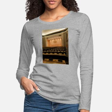 Uno United Nations Geneva in a conference room - Women's Premium Longsleeve Shirt