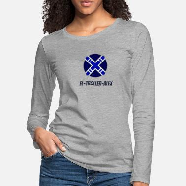 DESIGN THE TROLLER ALEX EVO - Women's Premium Longsleeve Shirt