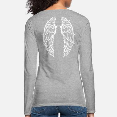 Wing Big wings, angel wings, wings - Women's Premium Longsleeve Shirt