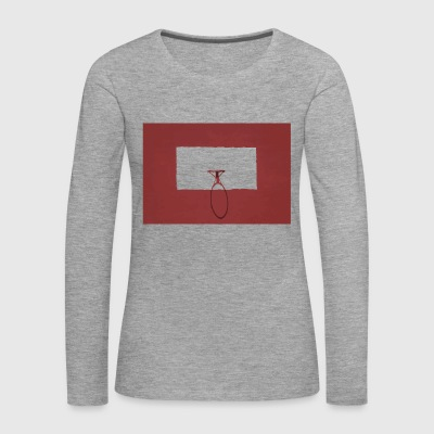Basketball hoop red sport - Women's Premium Longsleeve Shirt
