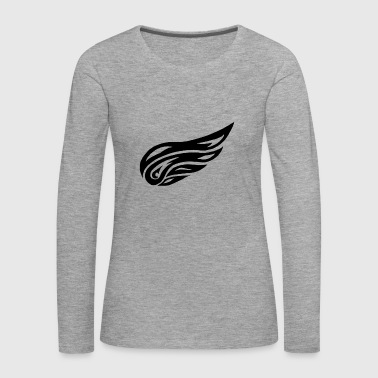tribal wing - Women's Premium Longsleeve Shirt