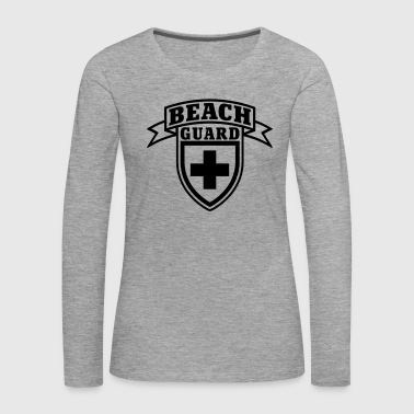 Beach Guard - Frauen Premium Langarmshirt