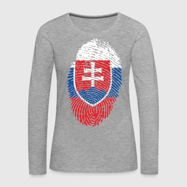 SLOVAKIA 4 EVER COLLECTION - Premium langermet T-skjorte for kvinner