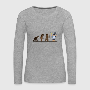 Tennis Evolution - Women's Premium Longsleeve Shirt