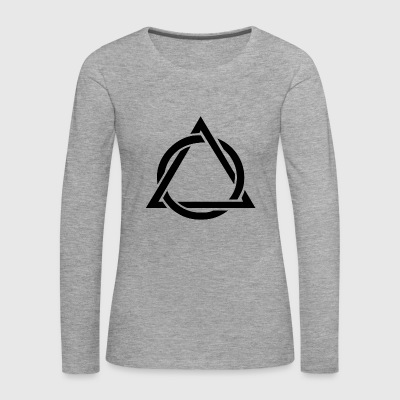 summit triangle - Women's Premium Longsleeve Shirt