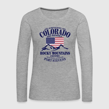 Colorado Ski Resort - United States - Women's Premium Longsleeve Shirt