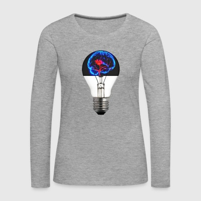 Brain bulb ideas - Women's Premium Longsleeve Shirt