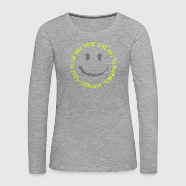 Way to Happiness - Frauen Premium Langarmshirt
