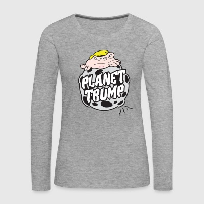 Planet Trump - Women's Premium Longsleeve Shirt