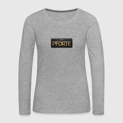 To the gate - Women's Premium Longsleeve Shirt