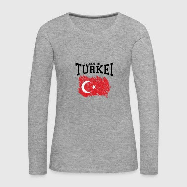 Made in Türkei - Frauen Premium Langarmshirt