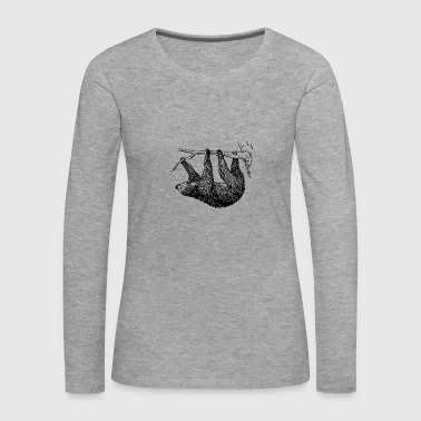 sloth - Women's Premium Longsleeve Shirt