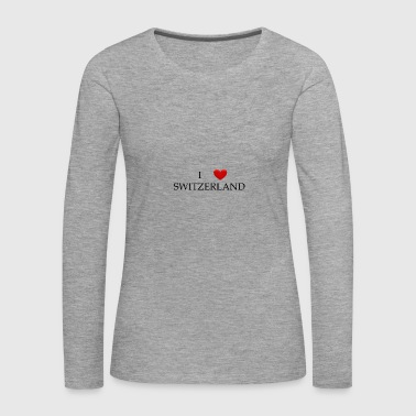 switzerland - Women's Premium Longsleeve Shirt