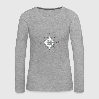 wind rose - Women's Premium Longsleeve Shirt