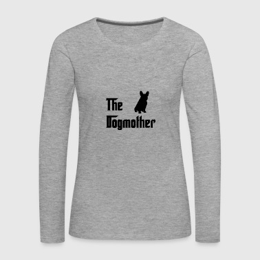 Dogmother Black - Women's Premium Longsleeve Shirt