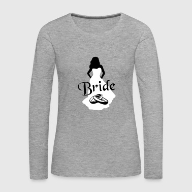 The Bride, Marriage - Women's Premium Longsleeve Shirt