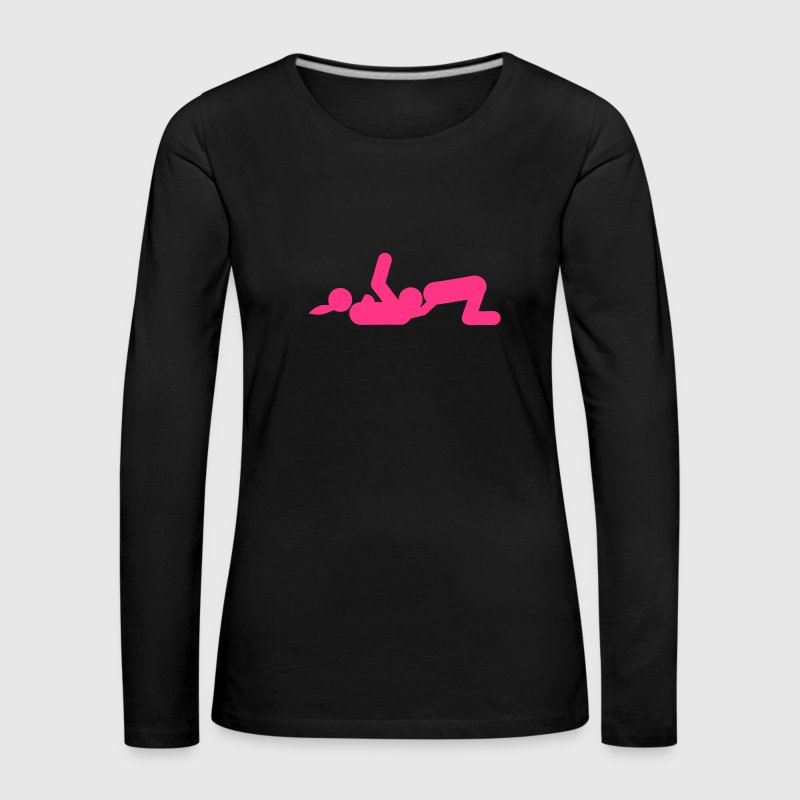 Sex position cunilingus icon 2309 - Women's Premium Longsleeve Shirt